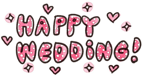 HAPPY WEDDING画像